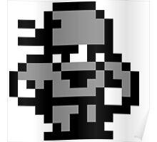 8-Bit Ninja Poster