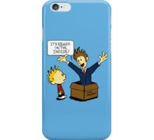 Calvin and the Doctor iPhone Case/Skin