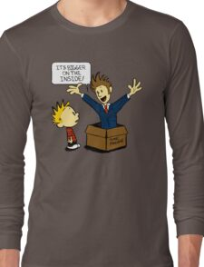 Calvin and the Doctor Long Sleeve T-Shirt