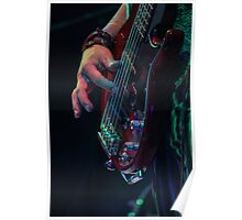 Mad T Party March Hare Bass Poster