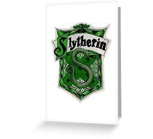 Slytherin Logo Greeting Card