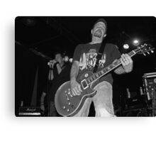 Ledfoot Messiah B&W Guitar Canvas Print