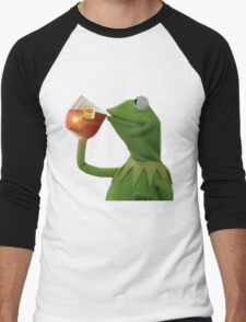 But that's none of my business Men's Baseball ¾ T-Shirt
