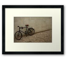 Swiss Bike Framed Print