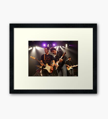 ARC Angels Guitar Duo Framed Print