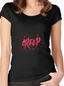 creep Women's Fitted Scoop T-Shirt