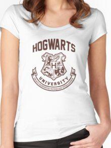 Hogwarts University Women's Fitted Scoop T-Shirt