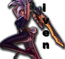 Riven - LoL by Bells94