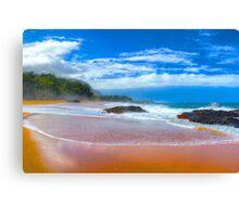 Lumaha'i Beach, Kauai Canvas Print