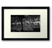 My view Framed Print