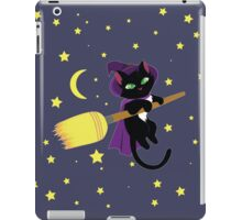 Flying Witch Cat iPad Case/Skin