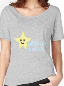 Wish on a star pixel Women's Relaxed Fit T-Shirt