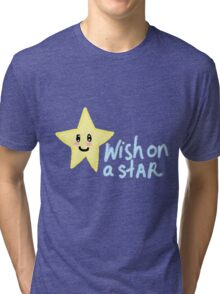 Wish on a star pixel Tri-blend T-Shirt