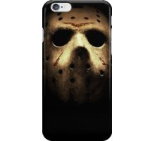 Friday the 13th Jason mask iPhone Case/Skin
