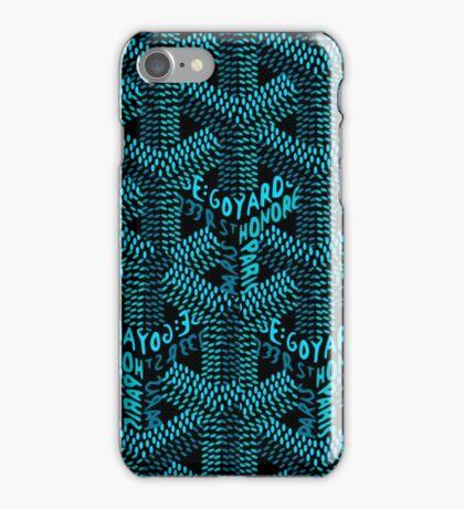 goyard-logo - Closet Full Of Cash iPhone Case/Skin