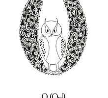 O is for Owl by Cat-Igrun