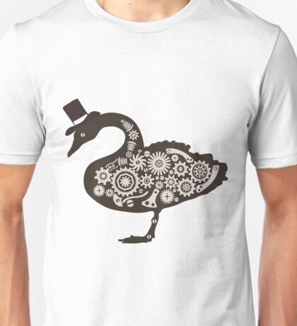 Steampunk victorian swan Unisex T-Shirt