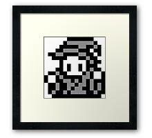 8-Bit Wizard Framed Print