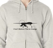 ChangeTransparentBackgroundShirtsStickers Zipped Hoodie
