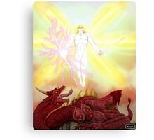 The Victory of St. Michael Canvas Print