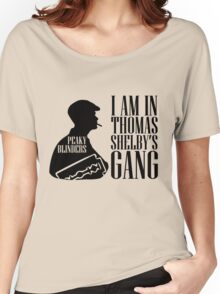 Peaky Blinders - I AM IN THOMAS Tshirt  Women's Relaxed Fit T-Shirt