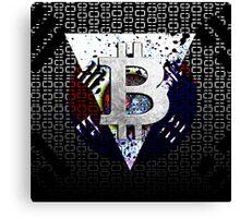 bitcoin south korea Canvas Print