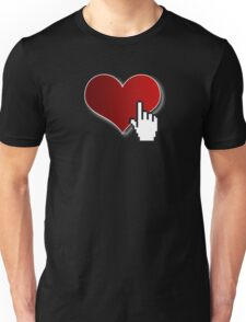 Click My Heart Unisex T-Shirt