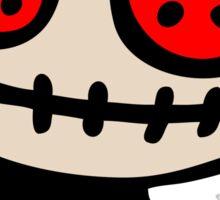 voodoo doll cartoon Sticker