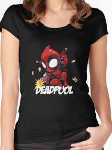 Deadpool 3 Women's Fitted Scoop T-Shirt