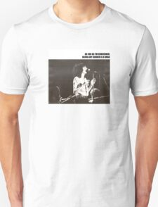 Patti Smith Gender Is A Drag  T-Shirt