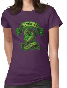 Slytherin Potentia Womens Fitted T-Shirt