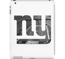 New York Giants Stadium Black and White iPad Case/Skin