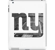 New York Giants Stadium Black and White iPad Case/Skin