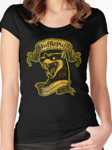 Hufflepuff Amicitia Women's Fitted Scoop T-Shirt