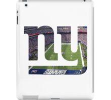 New York Giants Stadium Color iPad Case/Skin