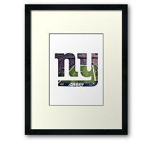 New York Giants Stadium Color Framed Print