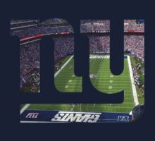 New York Giants Stadium Color by Josh Eisenmann