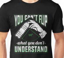 Water Bottle Flip Challenge School Trend Can't Flip Shirt Unisex T-Shirt