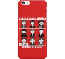 Super Fandom Fighter!  iPhone Case/Skin