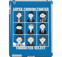 Super Fandom Fighter!  iPad Case/Skin