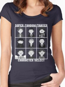 Super Fandom Fighter!  Women's Fitted Scoop T-Shirt