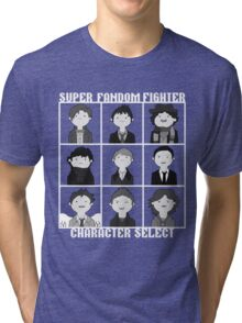 Super Fandom Fighter!  Tri-blend T-Shirt