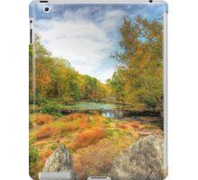 Autumn At The Creek - Green Lane - Pennsylvania - USA iPad Case/Skin