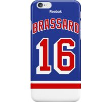 New York Rangers Derick Brassard Jersey Back Phone Case iPhone Case/Skin