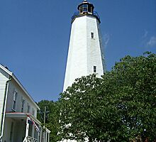 Sandy Hook Lighthouse by Jane Neill-Hancock