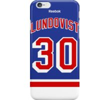 New York Rangers Henrik Lundqvist Jersey Back Phone Case iPhone Case/Skin