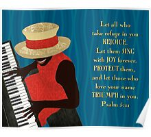 Praise and Worship Piano Player Poster