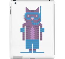 Snorkel Swimmer Cat Pixel Art iPad Case/Skin