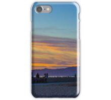 Sunset at Venice Beach, California, USA. iPhone Case/Skin