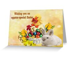 Eggstra-Special  Easter  Greeting Card